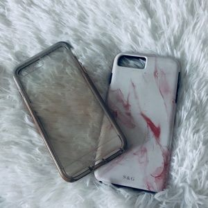 Apple IPhone 7plus Tech 21 and S&G cases